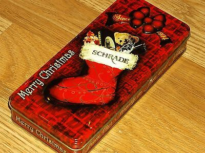 SCHRADE CUTLERY-LEGENDS OF THE CHRISTMAS STOCKING-TIN ONLY! NO KNIFE!