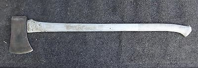 CRAFTSMAN  PLASTIC HANDLE SINGLE BIT AXE IN GOOD CONDITION U.S.A.