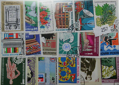 50 Hungary (complete sets) stamps in packet (257)