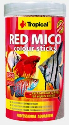 Nourriture Poissons Red Mico Tropical Colour Stick 100Ml