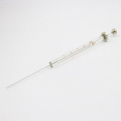 1Pcs New Glass 25ul Trace Syringe Micro Injector 0.025ml High Quality
