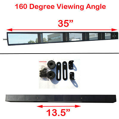 Brand New Vintage Style Wink Five 5 Panel rear view Mirror