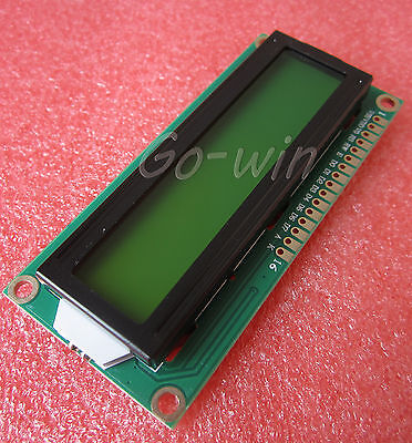 10PCS1602 16x2 Character LCD Display Module HD44780 Controller Yellow Blacklight