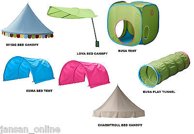 Ikea- Mysig, Lova, Kura, Charmtroll- Kids/ Childrens Bed Canopies & Bed Tent