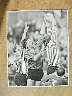 North Midlands v Lancashire 1982 Cup Final Original Rugby Press Photograph