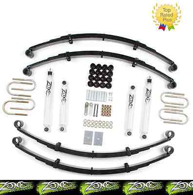 "1987-1995 Jeep Wrangler YJ 2"" Full Suspension Lift Kit Zone Offroad J27"