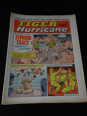 Tiger and Hurricane Comic 17th July 1965