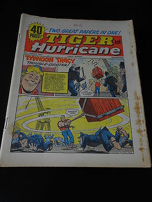 Tiger and Hurricane Comic 14th August 1965