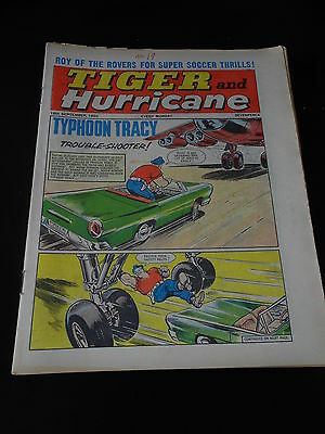 Tiger and Hurricane Comic 18th September 1965