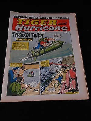 Tiger and Hurricane Comic 16th October 1965