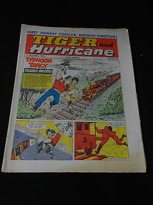 Tiger and Hurricane Comic 11th December 1965