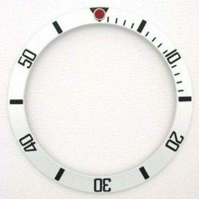 Bezel Insert For 40Mm Invicta 8926C Pro Diver Top Quality Silver