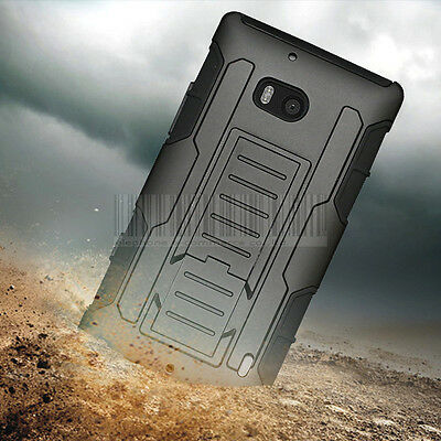 Rugged Shockproof Hybrid Armor Hard Stand Cover Tough Case For Nokia Lumia 930