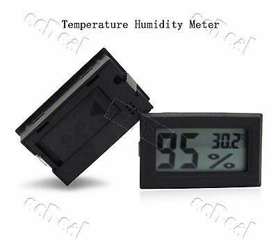 1 pc Mini Digital Lcd Indoor Temperature Humidity Meter Thermometer Hygrometer