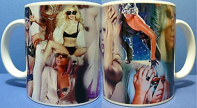 LADY GAGA -  Photo Collage Coffee Mug - Boxed