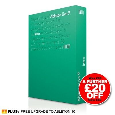New Ableton Live 9 Intro Edition Production & Performance DAW Software