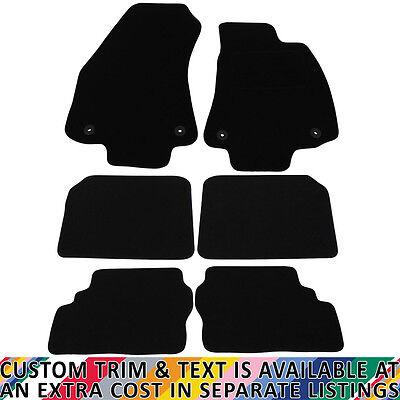 Vauxhall Zafira MK I 1998-2005 Fully Tailored 6 Piece Car Mat Set with 4 Clips