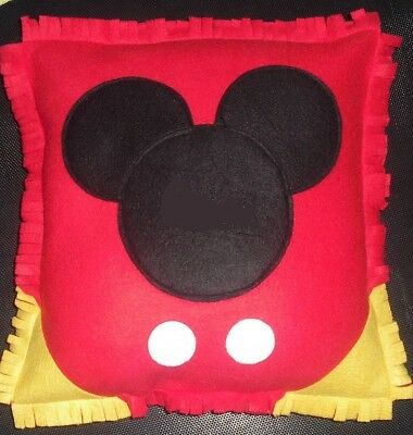 Gorgeous DISNEY MICKEY  MOUSE Personalized Pillow!