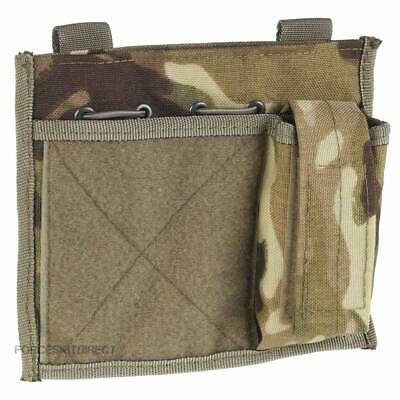 British Army Commanders Admin Panel Map Pouch MTP Multicam Molle Velcro Patch