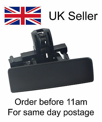 Brand new Genuine Fiat Grande Punto Black glove box lid handle 735426145
