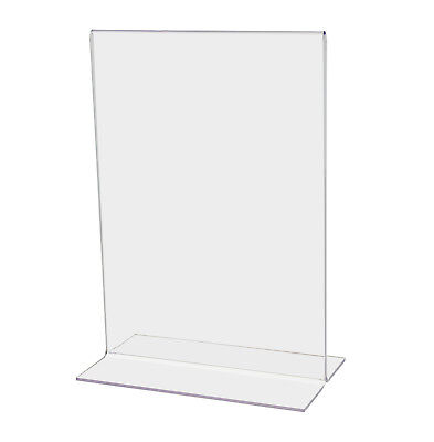 "5""W x 7""H Double-sided Table Sign Holder (Lot of 24)"