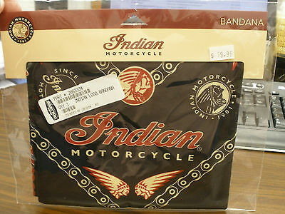 Indian Motorcycle Logo Bandana NIP