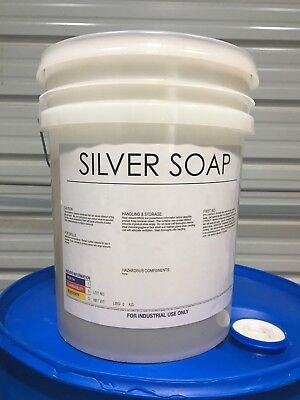Burnishing Compound, liquid silver/stainless steel polishing debur soap