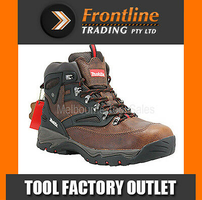 Makita Mw349 Xpt Safety Leather Work Boot With Steel Toe