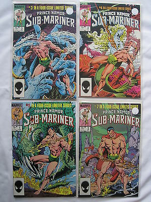 PRINCE NAMOR, The SUB-MARINER : COMPLETE 4 ISSUE 1984 SERIES. SUBMARINER. MARVEL