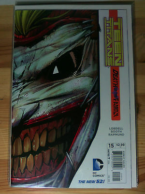 Dc Comics #15 Teen Titans Death of the Family The New 52!