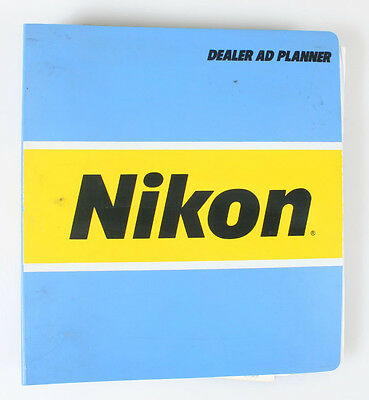 Nikon Ad Planner For Cameras   Lenses 1992