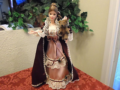 Vintage Barbie Doll with Holiday Outfit