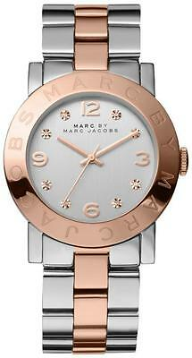 Marc by Marc Jacobs Amy Two-Tone Crystal Ladies Watch MBM3194