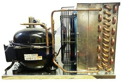 New Indoor Condensing Unit 1 HP, Low Temp, R404A, 115V (Embraco NT2180GKV1)