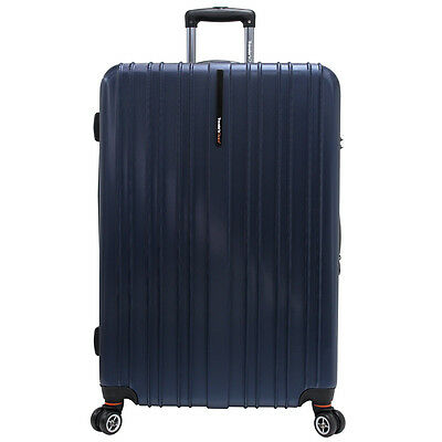 Traveler's Choice Navy / Blue 29in Tasmania Pure Polycarbonate Hardsided Spinner