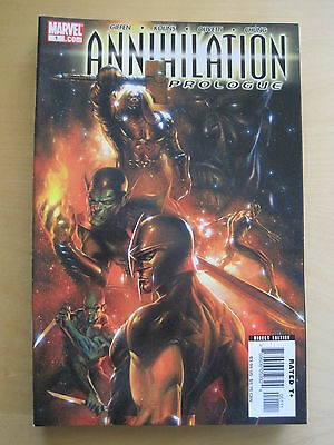 ANNIHILATION : PROLOGUE. BRILLIANT ONE-SHOT by GIFFEN, KOLINS etc. MARVEL. 2006