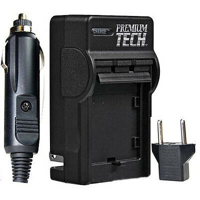 Premium Tech NB-2LH Battery Charger for Canon Rebel XT XTi EOS 400D 350D Camera