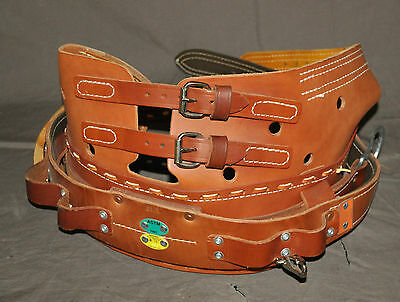 Bashlin Industries Tree Climbing Belt Rest-A-Back Retails New for 499.00