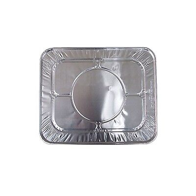 Daily Chef Disposable Half 1/2 Size Aluminum Steam Table Pan Lids - 36 ct