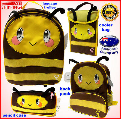 Luggage SET Animal backpack, lunch cooler, trolley, pencil case Light Portable