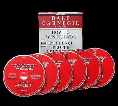 How to Win Friends and Influence People Dale Carnegie Audio CD's Unabridged