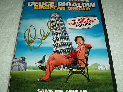 Rob Schneider Hand Signed DVD Cover Deuce Bigalow European Gigolo Comedian Proof