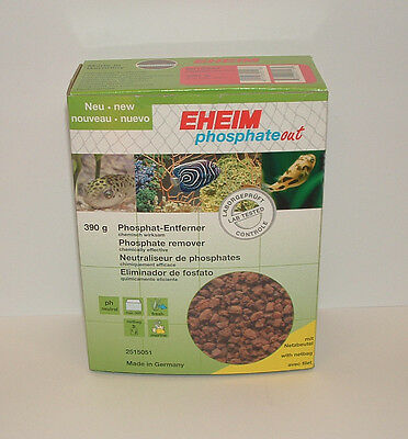 EHEIM 2515051 PHOSPHATE OUT 390g. Filter Media. Aquarium