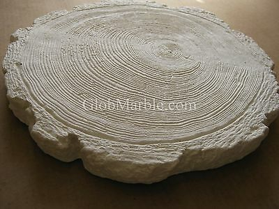 Concrete Mold Stone, Stepping Stone Paver. Rubber Mold Log  5901/1