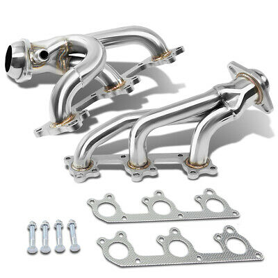 For 05-10 Ford Mustang 4.0/v6 Stainless Exhaust Manifold Race Header+Gasket/bolt