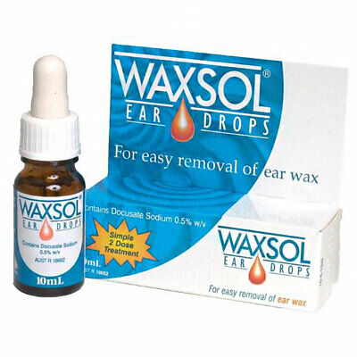 ツ Best Price! Waxsol Ear Drops 10Ml - Docusate Sodium 0.5% - Discount Chemist