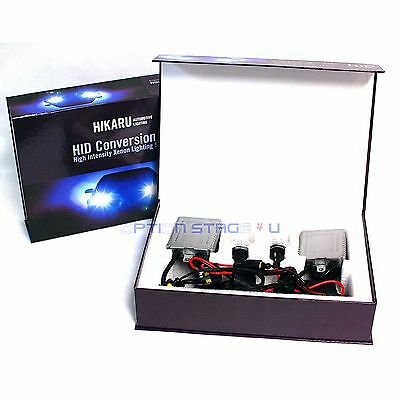 BMW High Beam H7 10000K 35W Pure Blue HIKARU Real Canbus AC Slim Xenon HID Kit
