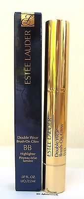 Estee Lauder Double Wear Brush On Glow BB Highlighter - BNIB Light Medium (Warm)