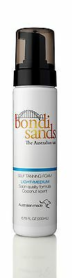Bondi Sands Self Tanning Mousse Foam 200Ml - Light/medium