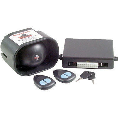 Rhino GTS Remote Car Alarm & 2 Point Immobiliser System Backup Battery Siren